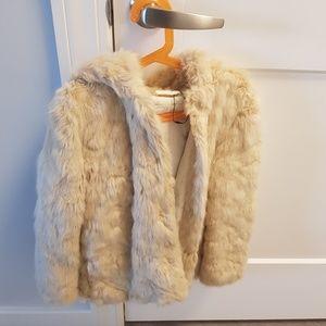 Zara Girls Faix Fur Jacket